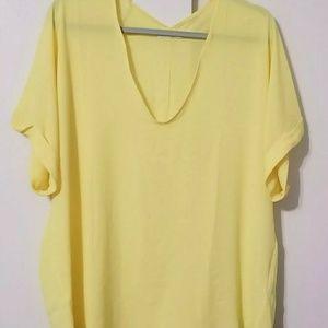 Lush Baby Yellow Blouse
